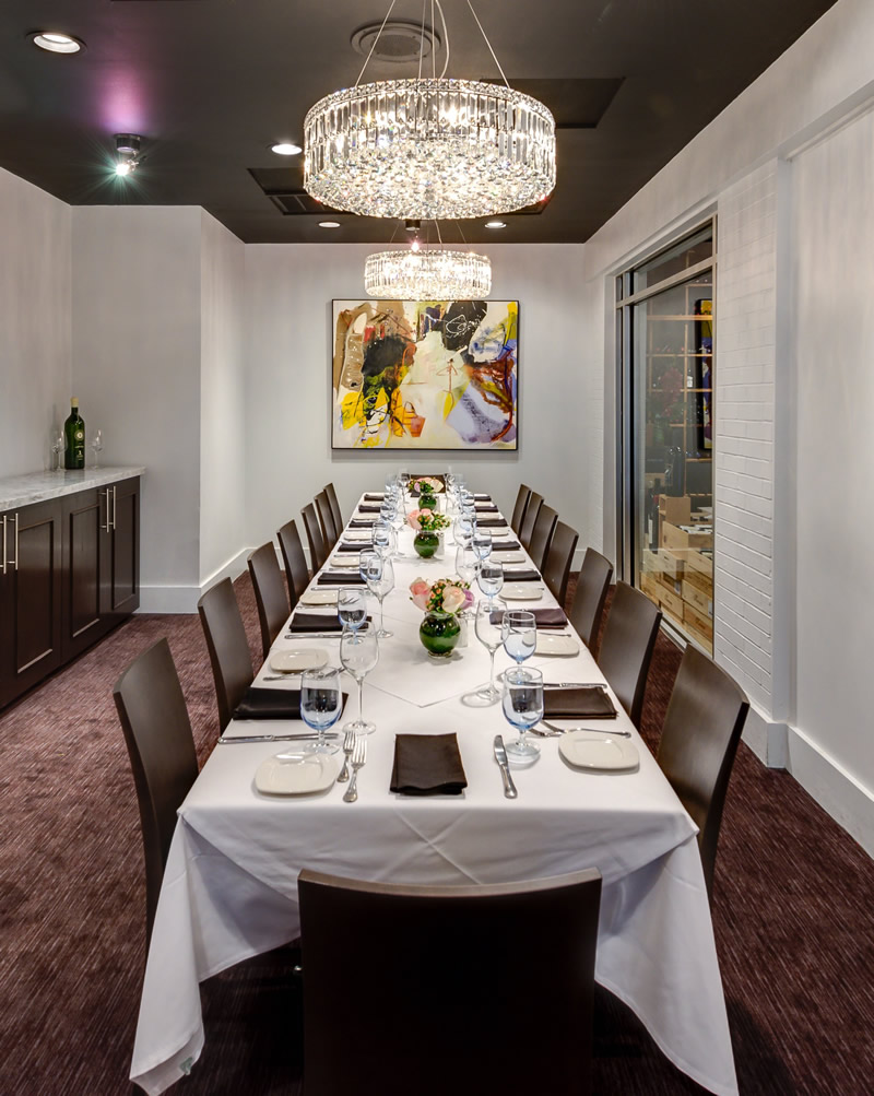 The Woodlands, TX Italian Restaurant, Fine Dining, Private Dining