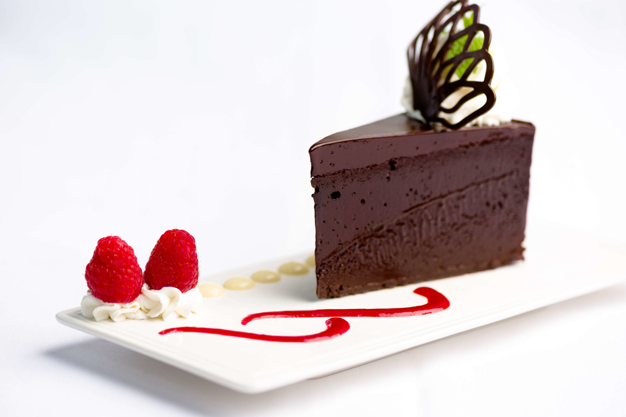 Image of Chocolate Decadence—sinfully delicious dense and intense flourless chocolate cake