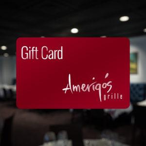 Image of Amerigo's Grille Gift Card.